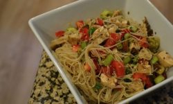 Asian Chicken Vermicelli