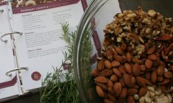 Rosemary Chipotle Roasted Nuts